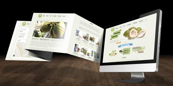 A Kókusz Világ új weboldala
